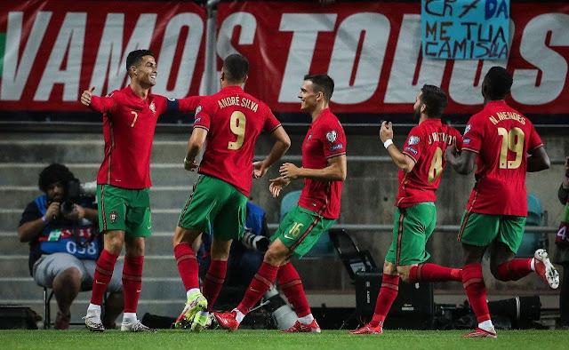ملخص اهداف مباراة البرتغال ولوكسمبورج (5-0) تصفيات كأس العالم