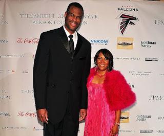 David Robinson with his wife Valerie Hoggatt