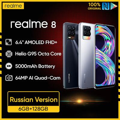 realme 8 6GB RAM 128GB Mobile Phone