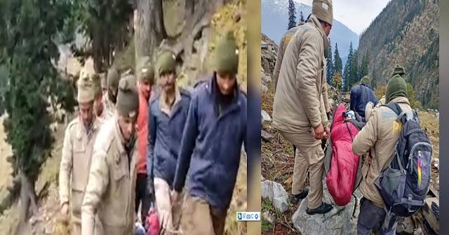 बड़ी खबर: शिमला से सांगला जा रहे थे 13 पर्यटक, ठंड से रास्ते में 3 ने तोड़ा दम
