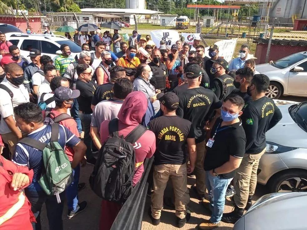 Greve de Guardas portuários paralisa 50% das atividades de três portos do Pará