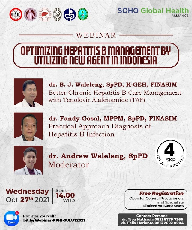 "(FREE 4 SKP IDI) ""Optimizing Hepatitis B Management By Utilizing New Agent In Indonesia"""
