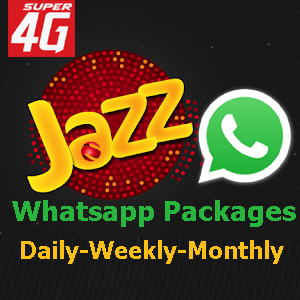 Jazz Whatsapp Packages