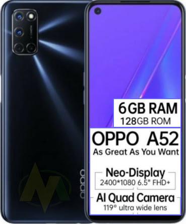 Spesifikasi Harga HP Oppo A52 Terbaru