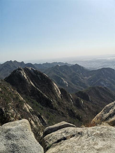 Bukhansan mountain
