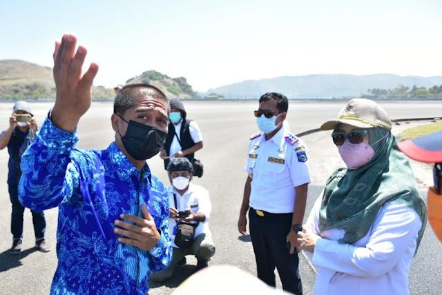 Wagub NTB optimis pembangunan Sirkuit Mandalika selesai tepat waktu