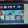 Ganjar Ulang Tahun, Crew Sasaraina FM Mentawai Kirim Tumpeng Virtual