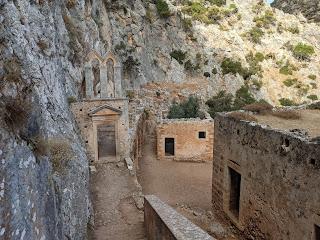 Katholiko Monastery, Crete.