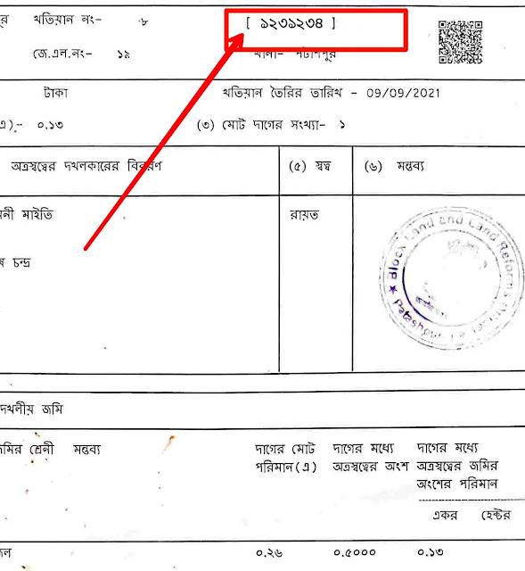 land registration id