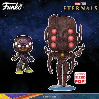 Eternals Pop! Marvel Studios Series 1 Vinyl Figures by Funko