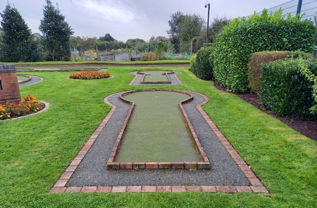 Crazy Golf at Vickersway Park in Northwich, Cheshire