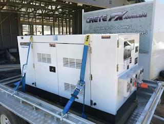 2750 kVA diesel generator
