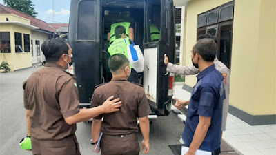 Tujuh Tahanan Dipindahkan dari Polres ke Rutan Kelas II Kebumen