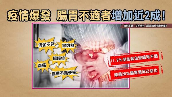 疫情壓力致腸胃不適湧就醫潮 揪腹痛原因靠這招