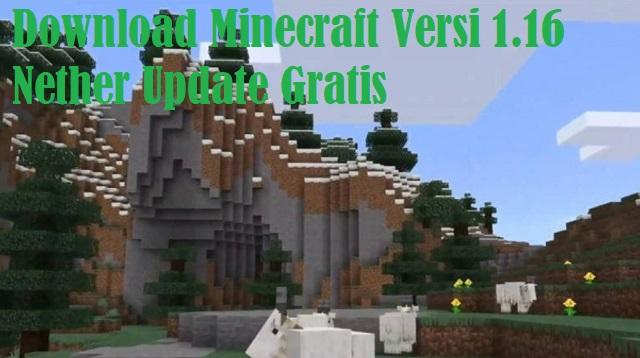 Download Minecraft Versi 1.16 Nether Update Gratis