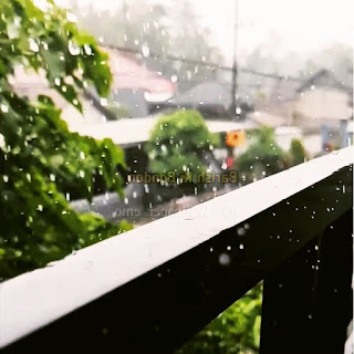 Rain On Window Aesthetic