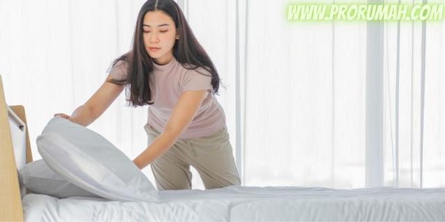 tips menata dekorasi kamar - selalu membersihkan dan merapikan kamar
