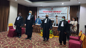 Ketum PERHAKHI Laksanakan Pelantikan Generasi Pertama Advokat Baru PERHAKHI Diseluruh Indonesia