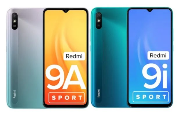 Xiaomi Launches Redmi 9A Sport, and 9i Sport with P2i coating