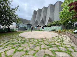The St Paul's Labyrinth 2021.