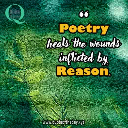 Quotes on poetry