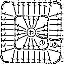 crochet-pixel-square-pattern