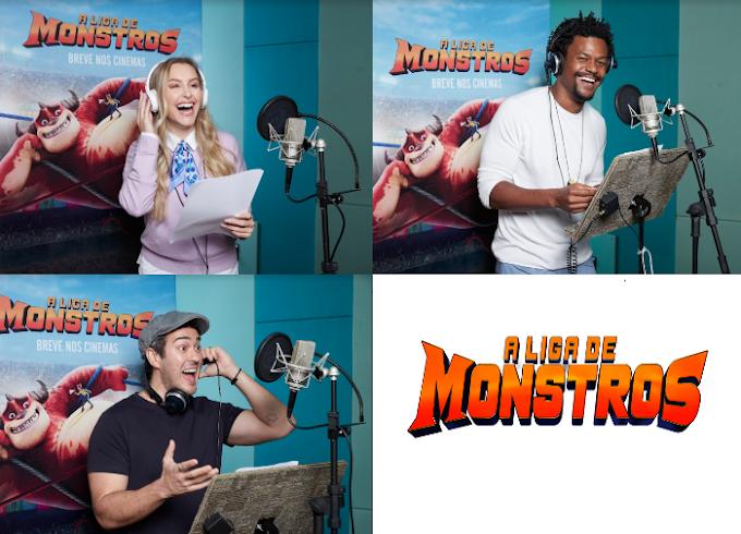 Paramount Pictures apresenta os dubladores de A Liga de Monstros