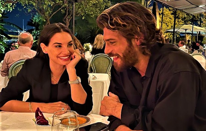 Can Yaman at dinner with former Miss Italy Chillemi: the two of them in Palermo for Viola come il mare