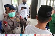 Jelang HUT ke-76, Brimob Polda Sulteng Gelar Bakti Sosial di Ponpes Ngatambaru