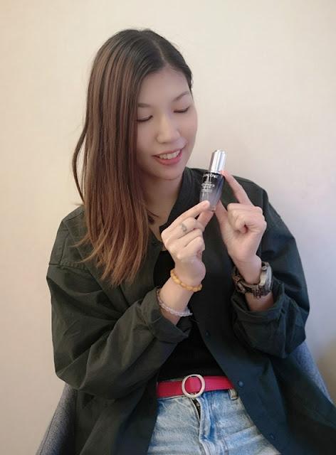 Lancome升級版嫩肌活膚雙精華Advanced Genifique Sensitive-敏感肌膚-透薄-小黑瓶-活性-評價-review-強效修護