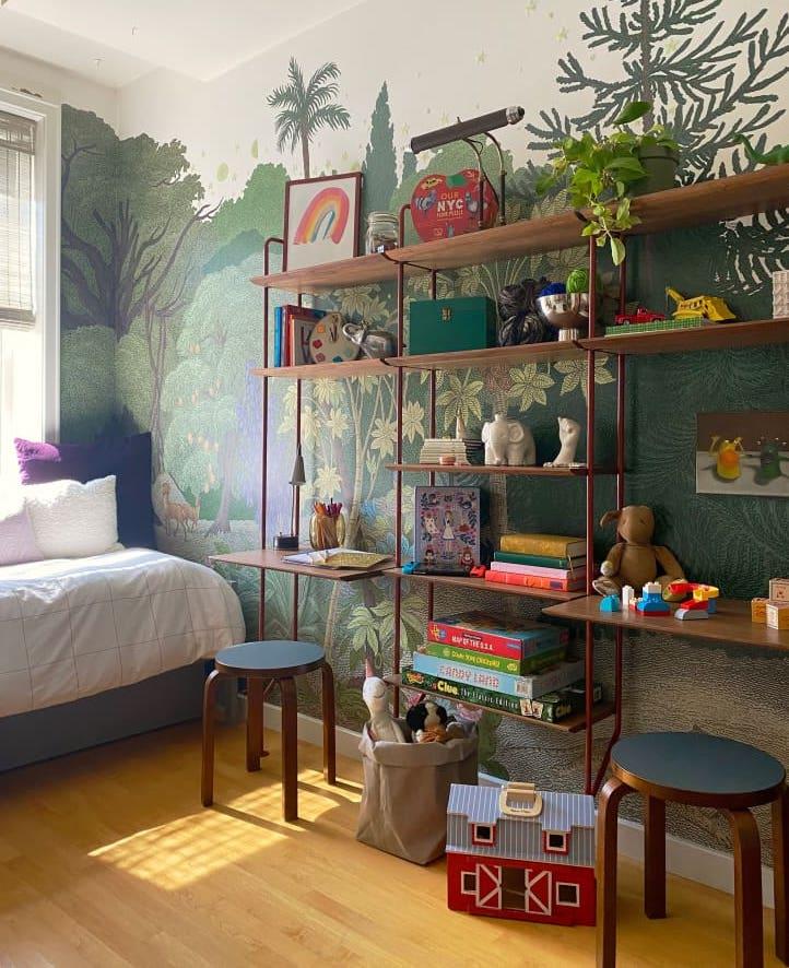 Dormitorio infantil después de la reforma
