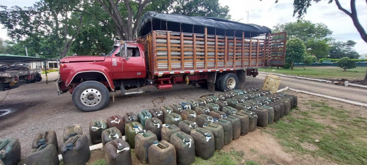 hoyennoticia.com, Cuatro mil galones de A.C.P.M. se incautaron en Aguachica