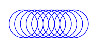 ilusi optik lingkaran di latex