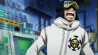 ワンピースアニメ 988話 ワノ国編 | ハートの海賊団 ペンギン | ONE PIECE Heart Pirates