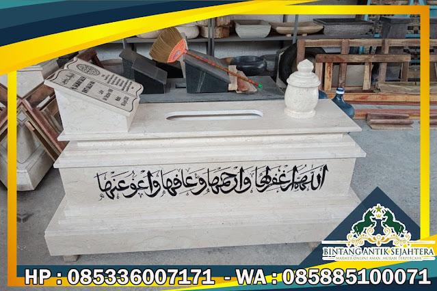 Makam Granit Islam Di Jakarta, Makam Granit Hitam, Model Makam Granit Islam