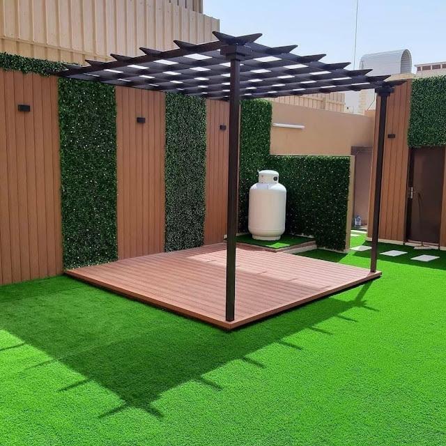 ما افضل التصميمات المميزة التى نستطيع عملها لحديقة منزلك بجدة