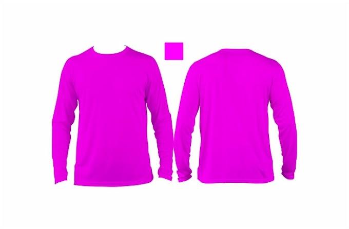 Gambar Baju Kaos Lengan Panjang Wanita