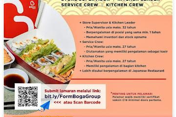 Lowongan Kerja Bandung Staff Boga Kitchen
