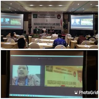 Deputi Bidang Revolusi Mental Secara Resmi Membuka Workshop Pemimpin Agama Peloporan Penggerak Gerakan Nasional Revolusi Mental Dan Madrasah Kader Nahdlatul Ulama Secara Virtual