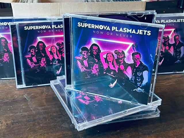 """Ο δίσκος των Supernova Plasmajets """"Now or Never"""""""