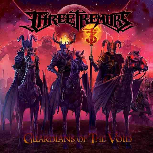 """Ο δίσκος των The Three Tremors """"Guardians Of The Void"""""""