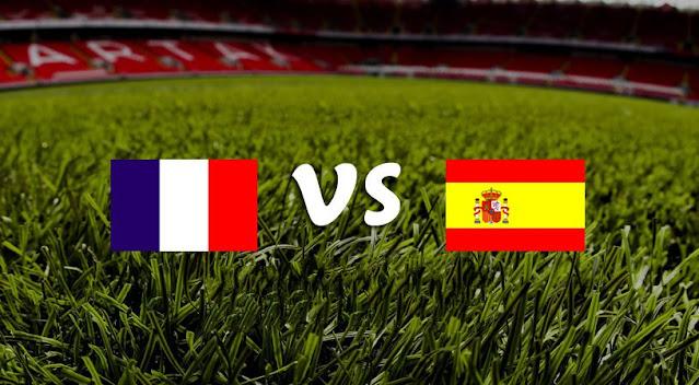 نتيجة مباراة فرنسا واسبانيا اليوم الاحد 10-10-2021 في دوري الأمم الأوروبية