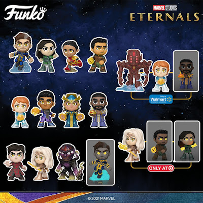 Eternals Marvel Studios Mystery Minis Blind Box Series by Funko