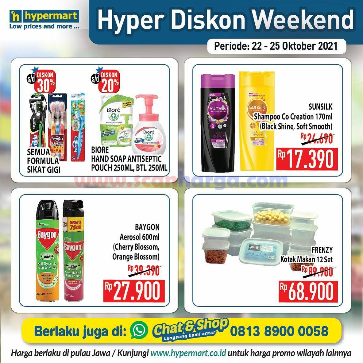 Promo Hypermart Weekend Terbaru 22 - 25 Oktober 2021 9