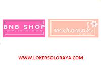 Lowongan Kerja Solo Sales Canvasing Cosmetics di BNB Shop & Meronah Beauty Care