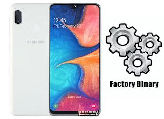 Samsung SM-A202FN Combination File Galaxy A20e Free