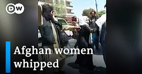 Watch: Taliban lashes women and beat journalists covering protests