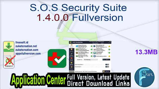 S.O.S Security Suite 1.4.0.0 Fullversion