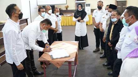 tandatangani usulan prioritas pembangunan tahun 2022