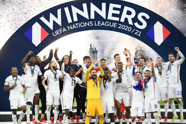 France once again asserted its dominant position after defeat at Euro 2020.